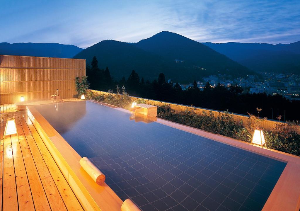 호텔 쿠사카베 아메리카 내부 또는 인근 수영장