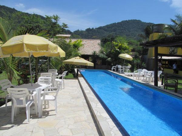 A piscina localizada em Pousada Lugar Comum ou nos arredores