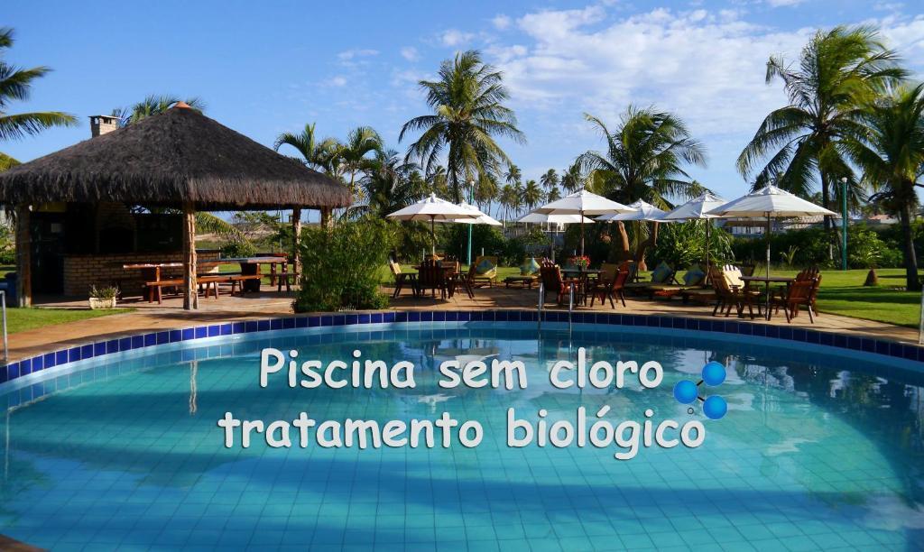 A piscina localizada em Grimms Pousada de Contos ou nos arredores