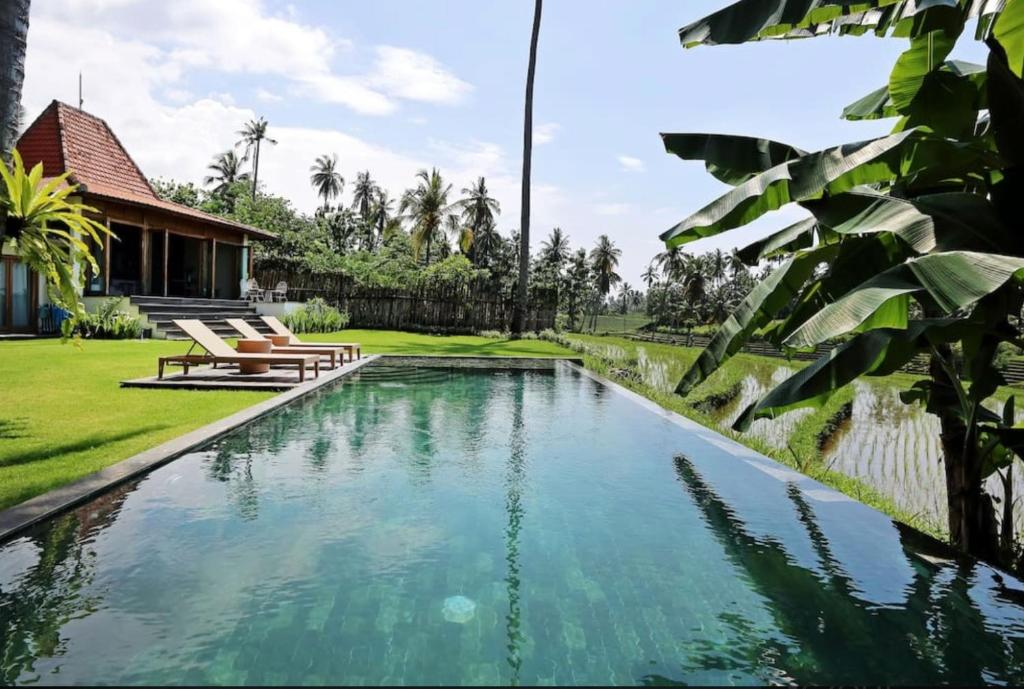 The swimming pool at or near The Mayana Beach House
