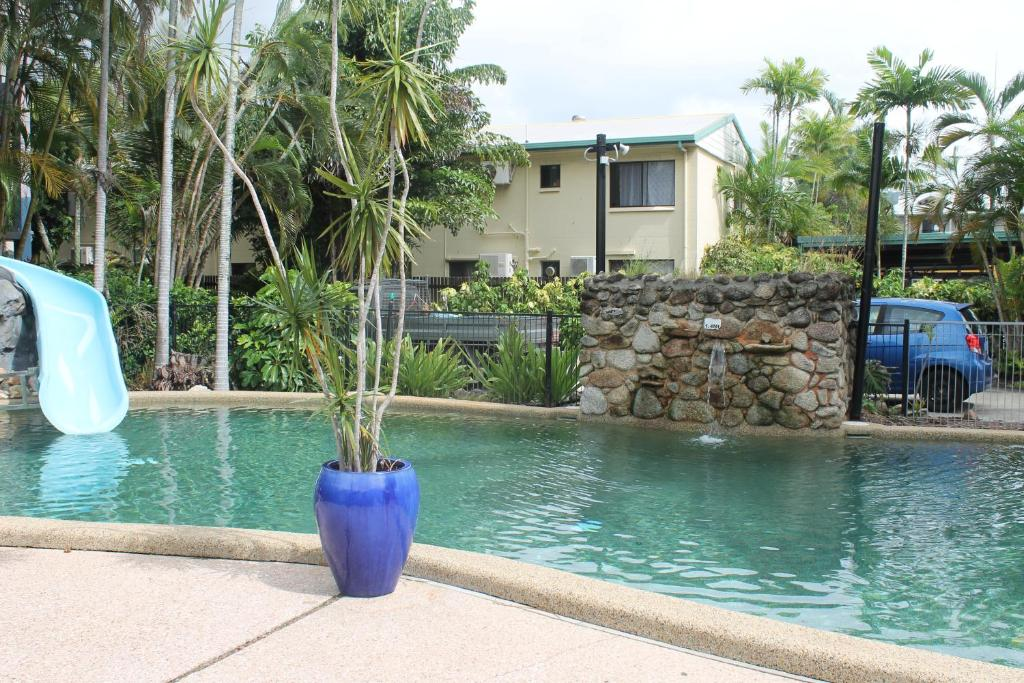 The swimming pool at or near Bohemia Resort Cairns