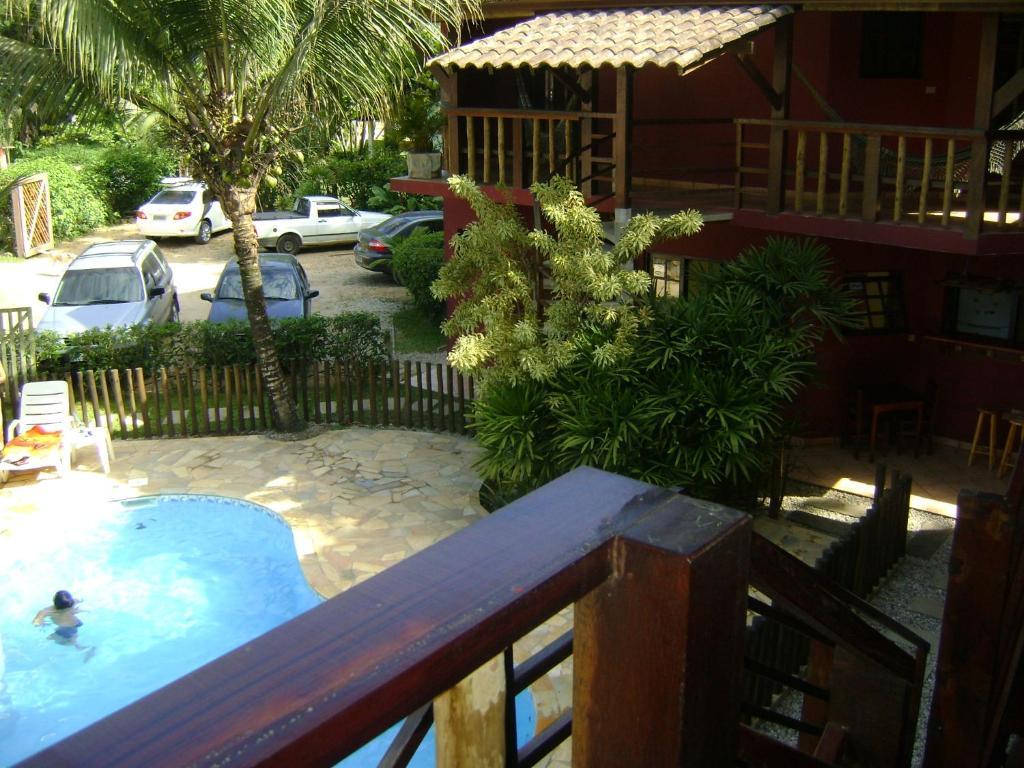 A view of the pool at Pousada da Villa Itamambuca or nearby