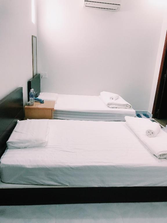 Phòng 2 Giường Đơn với Vòi sen