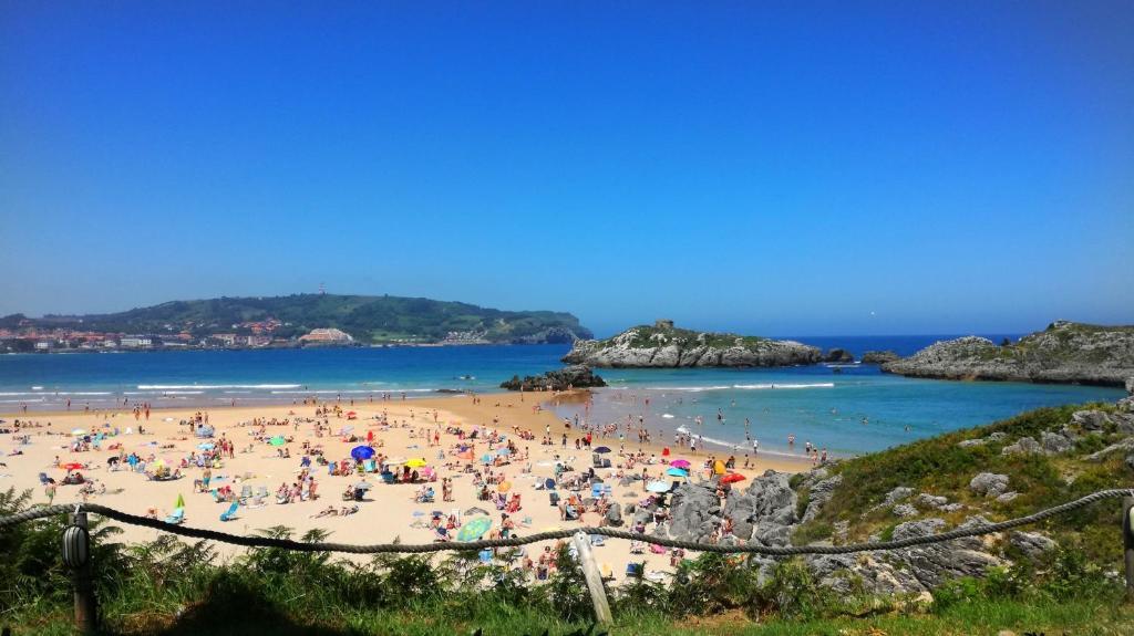 Un fin de semana entre Noja y Santander