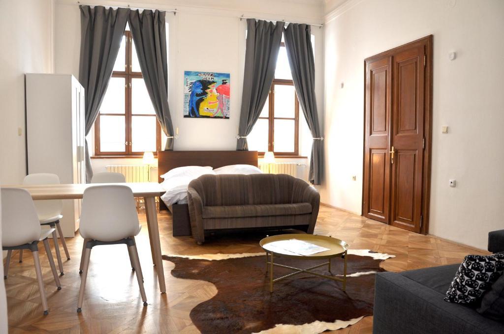 Beethoven apartmentsにあるシーティングエリア