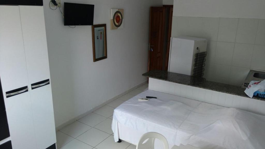 A bathroom at Residencial Dom Fernando