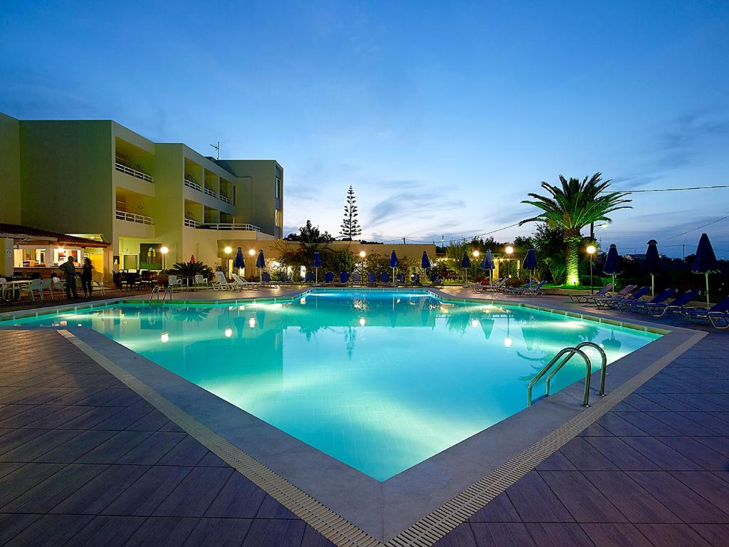 The swimming pool at or near Eleftheria