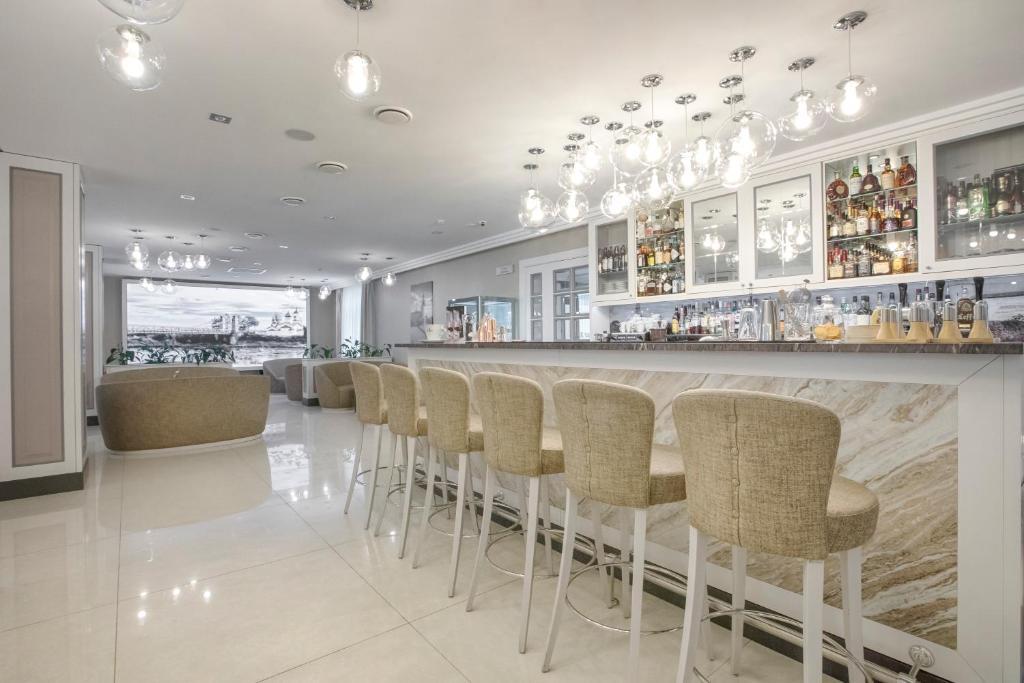Лаундж или бар в Hotel Pokrovsky