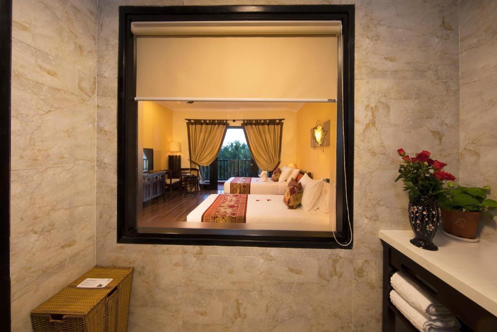 Phòng Deluxe Giường Đôi/2 Giường Đơn Nhìn Ra Vườn