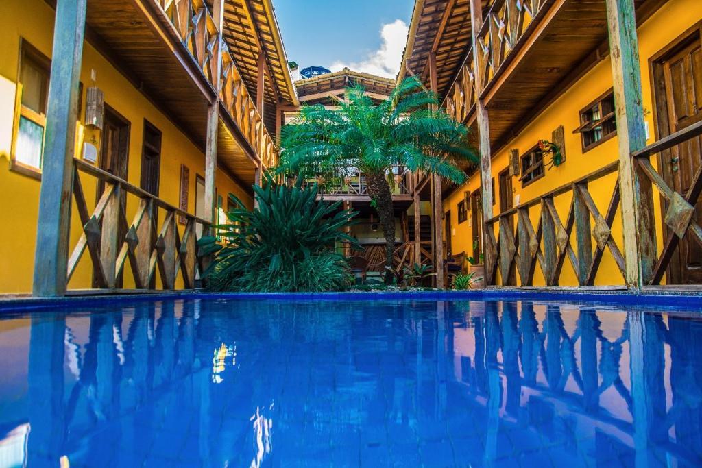 A piscina localizada em Pousada Pérola Do Morro ou nos arredores