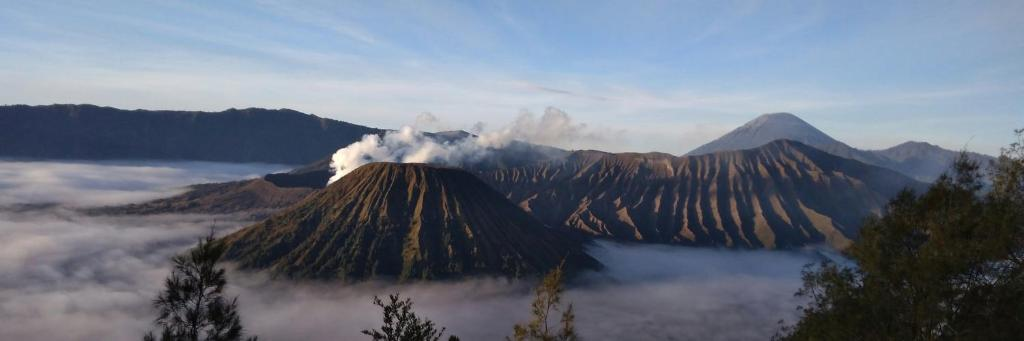 EF Bromo Homestay during the winter