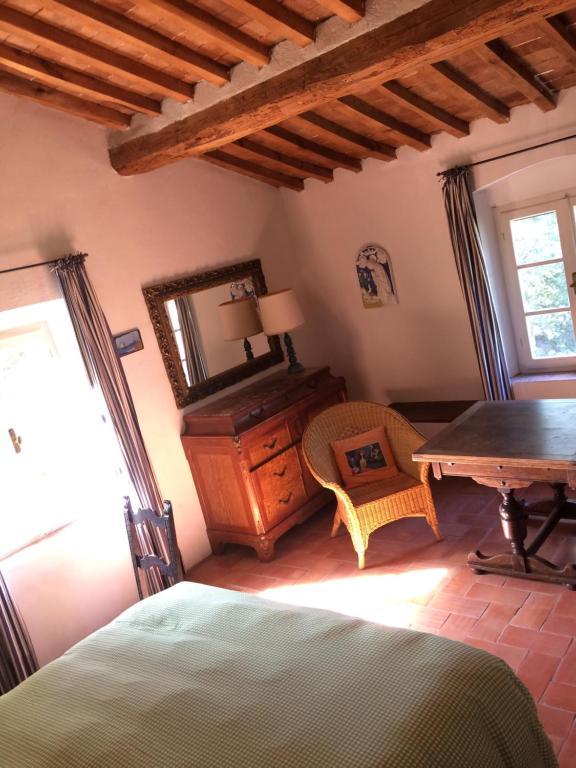 Area soggiorno di Le Grascete