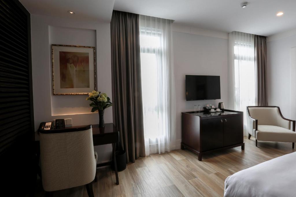 Phòng Deluxe Giường Đôi/2 Giường Đơn Trọn Gói Kèm Chơi Golf