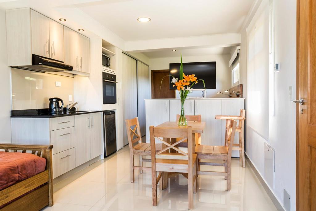 Una cocina o kitchenette en Mono Ambiente para 4 personas