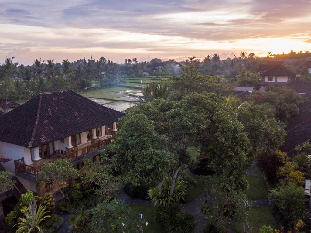 A bird's-eye view of Sri Ratih Cottages