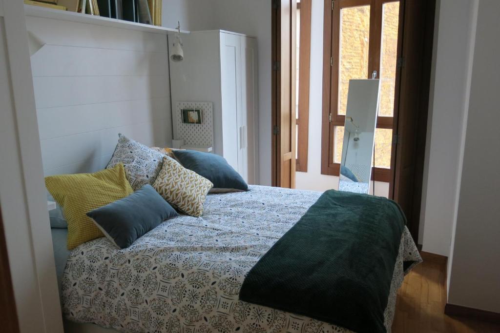 Cama o camas de una habitación en Apartamento Duque