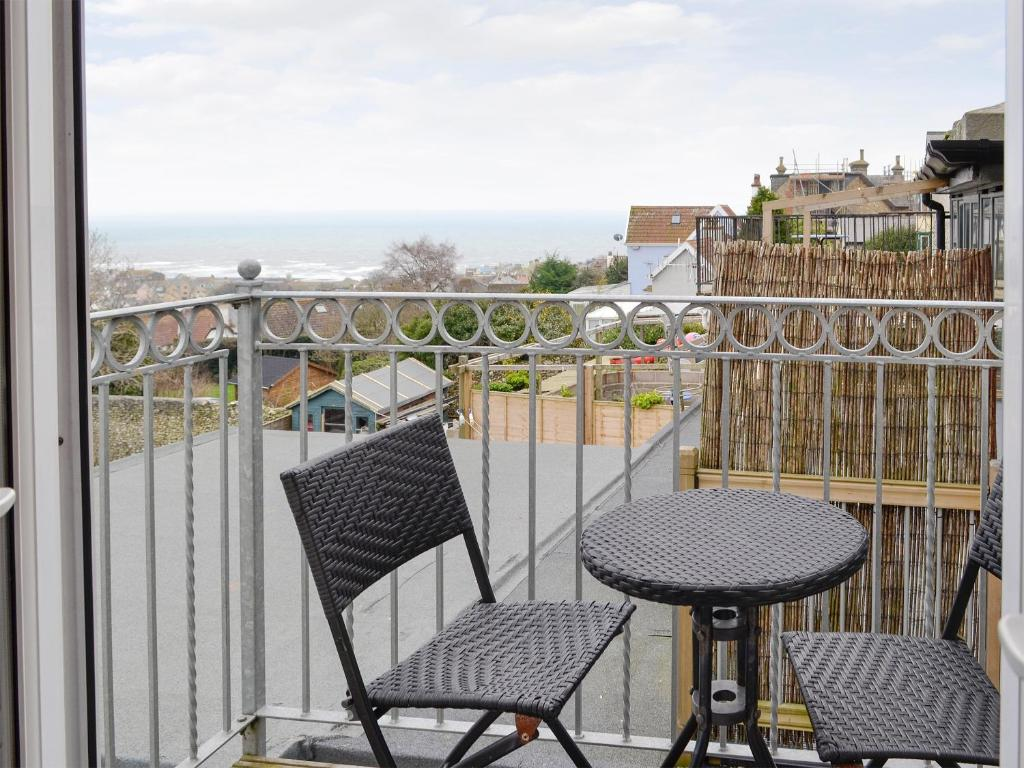 A balcony or terrace at Bay View