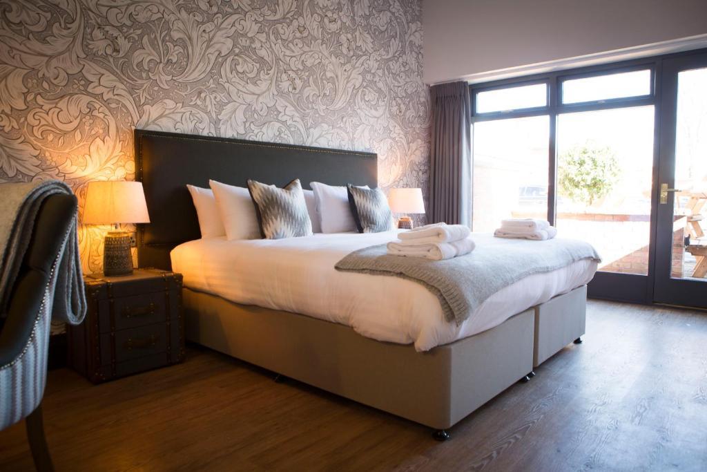 Postelja oz. postelje v sobi nastanitve Wynnstay Arms, Ruabon