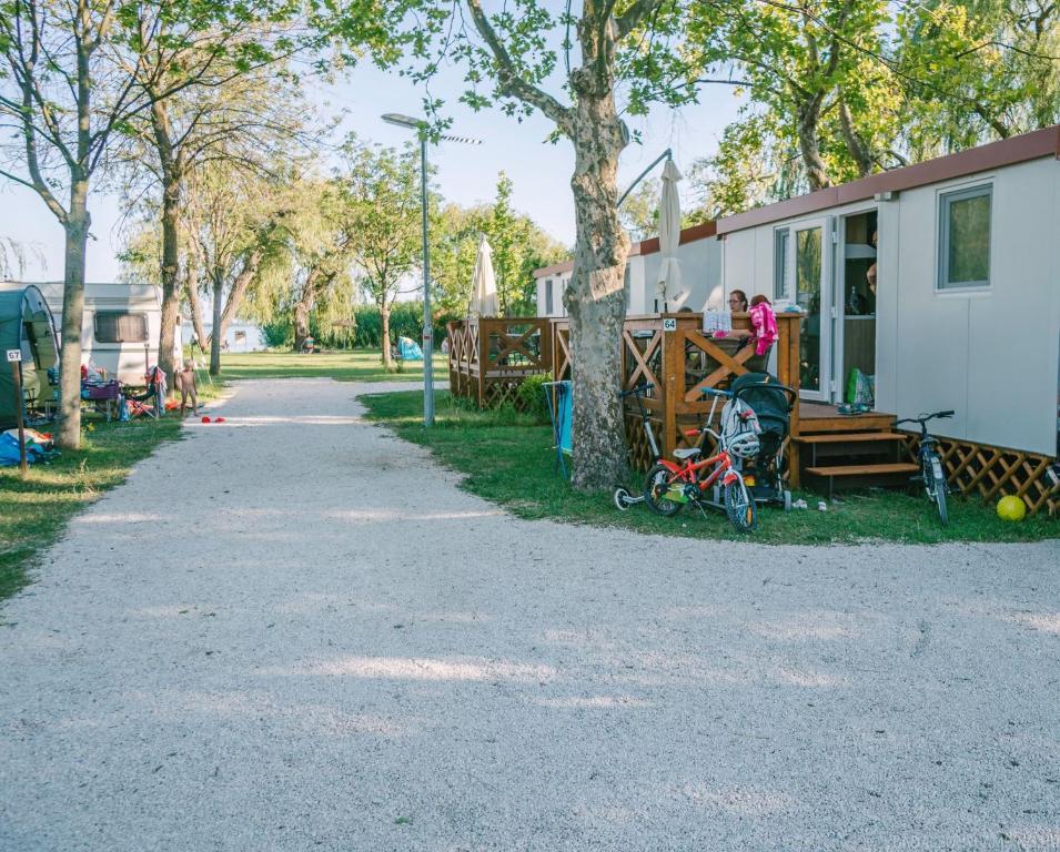 Een tuin van Badacsony Camping