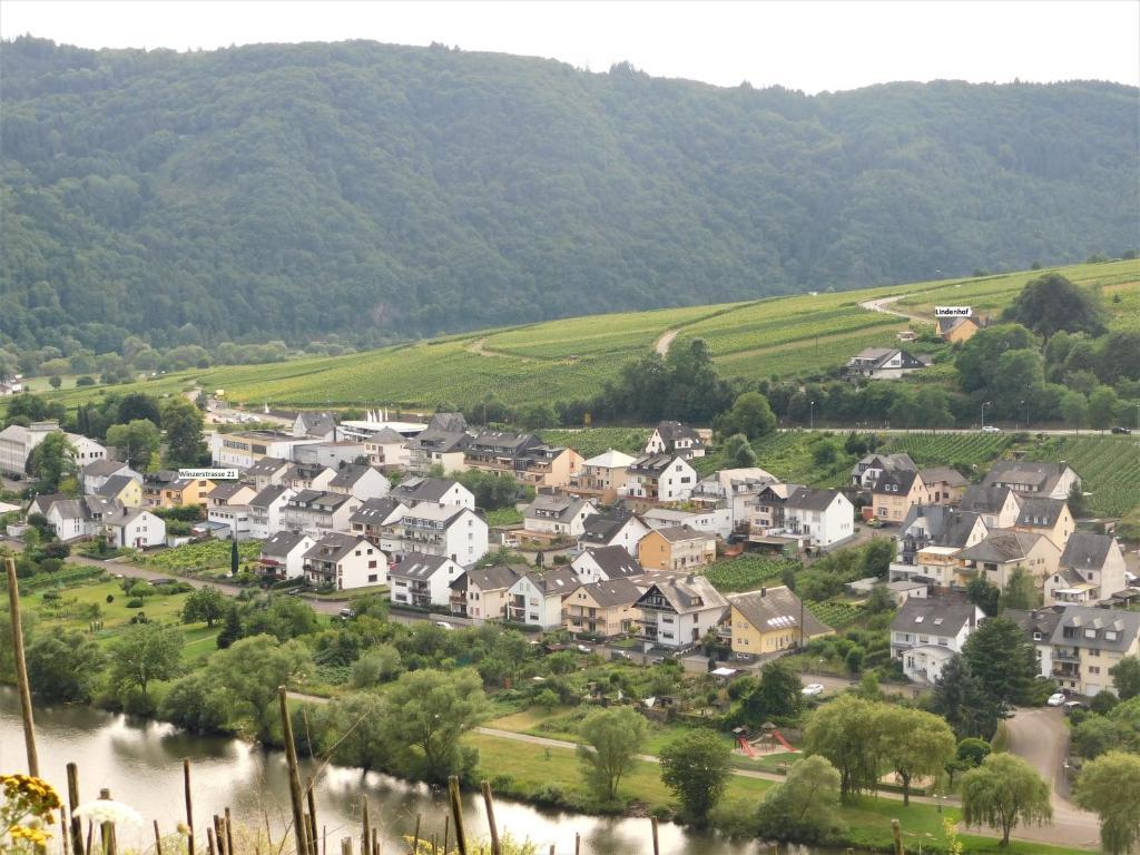 Blick auf Die Ferienwohnung Lindenhof aus der Vogelperspektive