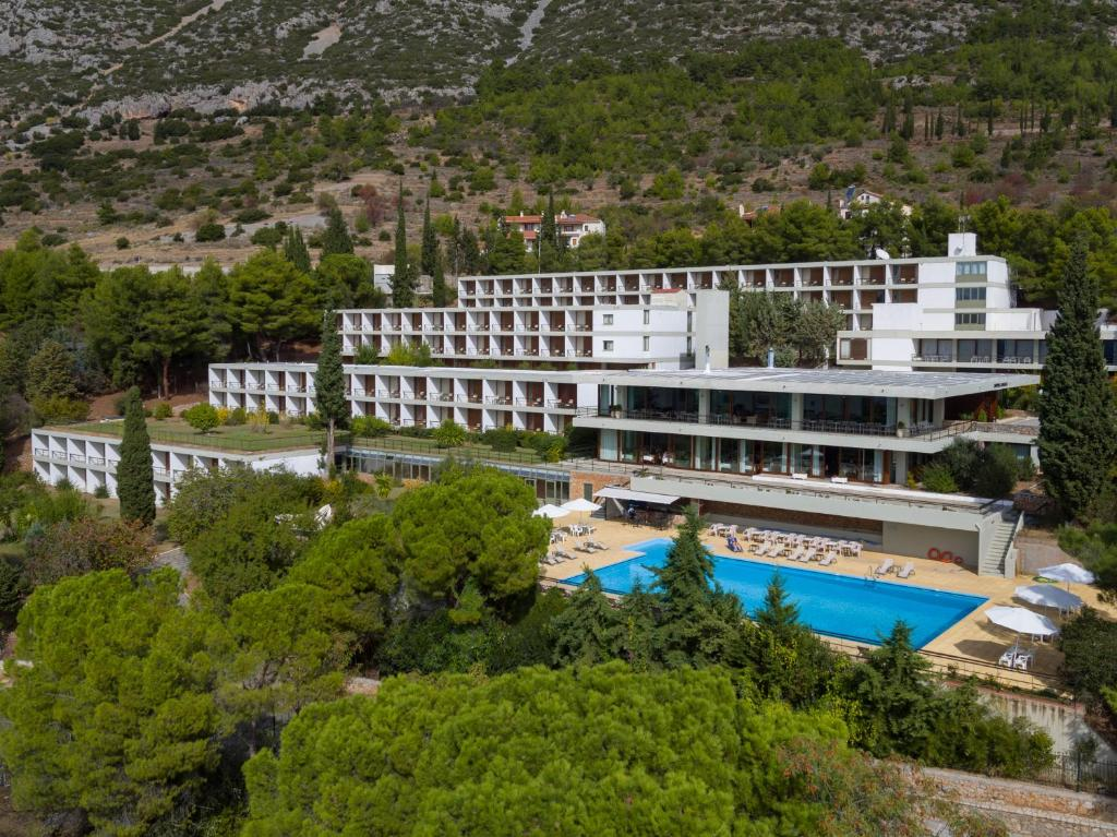 A bird's-eye view of Amalia Hotel Delphi