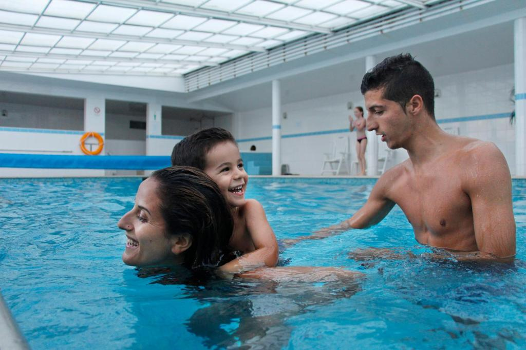 The swimming pool at or near Hotel Feira Pedra Bela
