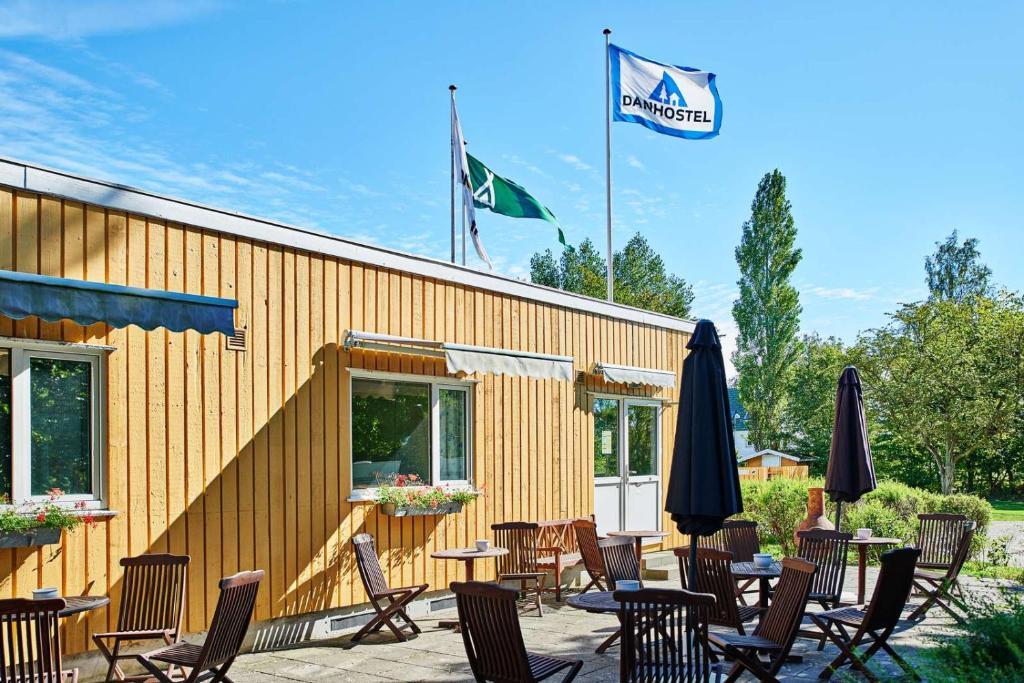 A restaurant or other place to eat at Danhostel & City Camping Frederiksværk