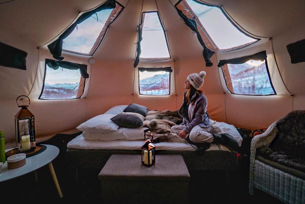 Luxury Tent Camp North Tour, Tromsø, Norway