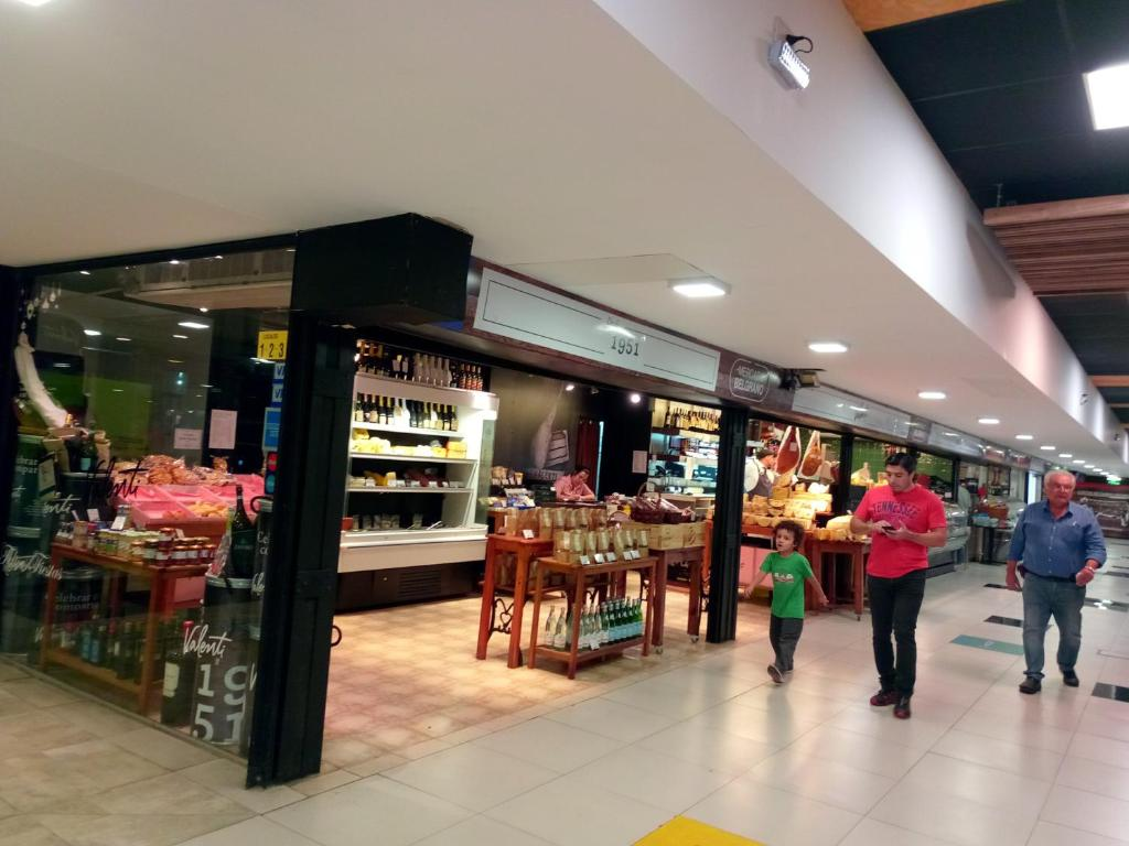 A supermarket or other shops at the homestay or nearby