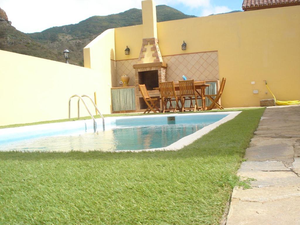 Het zwembad bij of vlak bij Villa Las Salineras