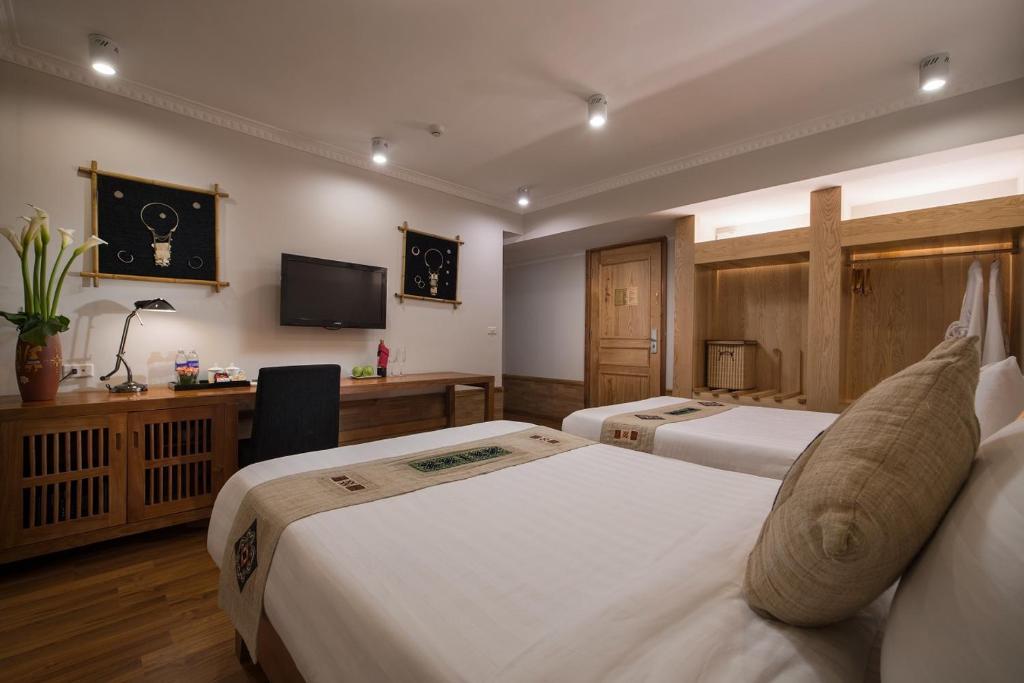 Phòng Deluxe Giường Đôi/2 Giường Đơn Nhìn Ra Núi