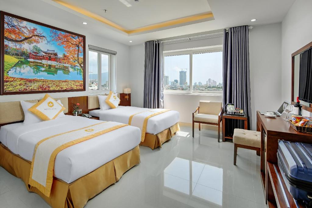 Phòng Deluxe Giường Đôi/2 Giường Đơn Nhìn Ra Sông