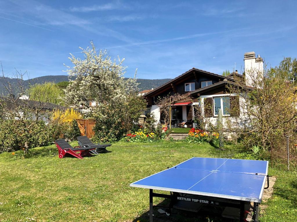 Villa Maison Au Bord Du Lac Bevaix Switzerland Bookingcom