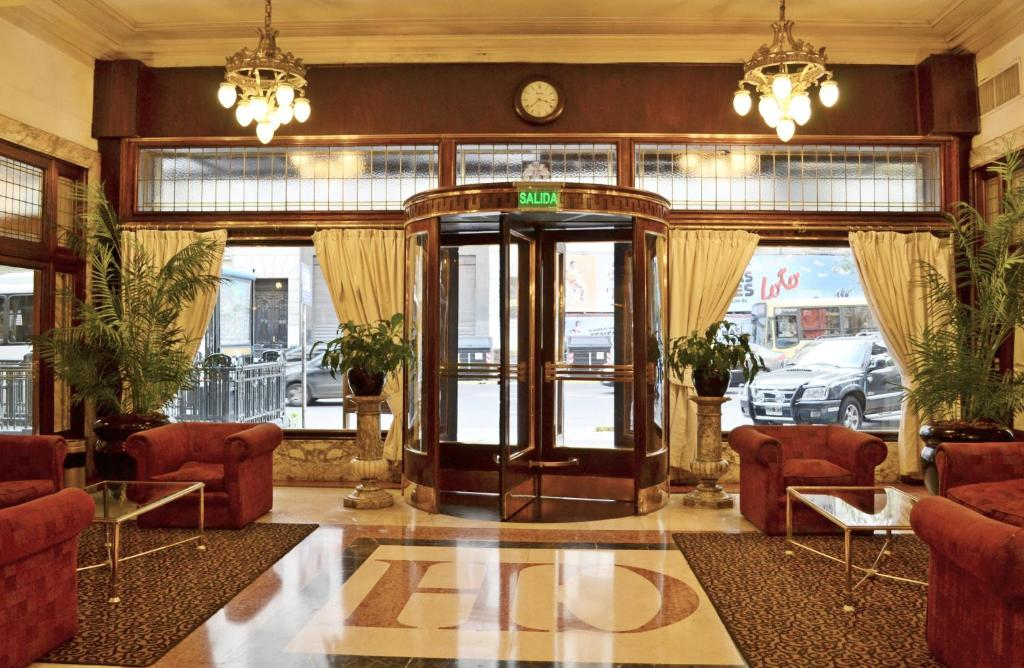 The lobby or reception area at Castelar Hotel & SPA