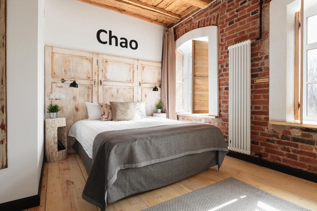 Кровать или кровати в номере Бутик-отель Truvor