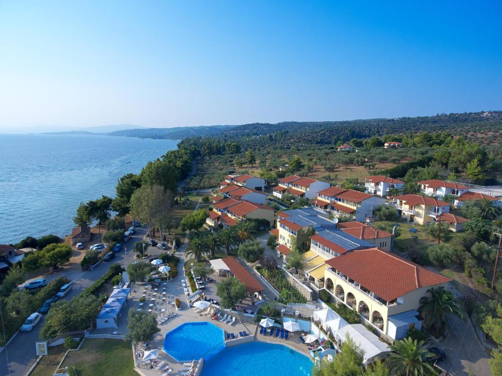 A bird's-eye view of Acrotel Elea Beach