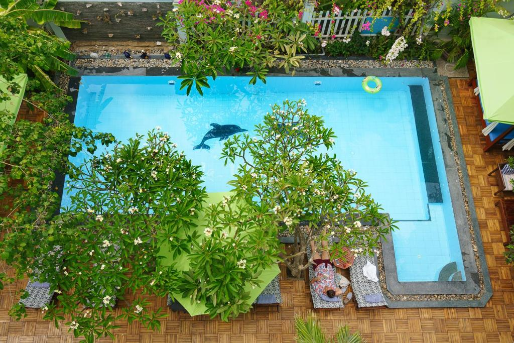 A view of the pool at La Marina Boutique Hotel & Spa or nearby