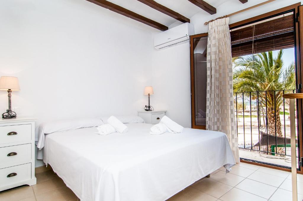 Cama o camas de una habitación en Seanema River Park Old Town