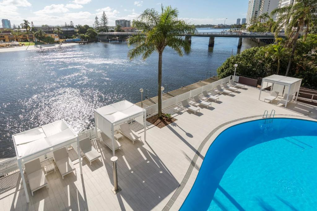 The swimming pool at or near Vibe Hotel Gold Coast