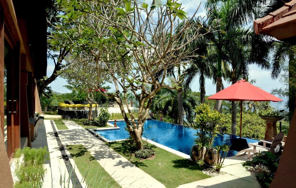 The swimming pool at or close to Villa Tiara