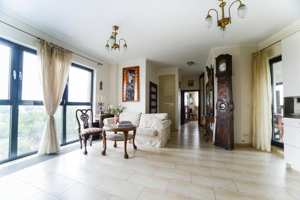 Apartament Belwederska Penthouse Z Pięknym Widokiem Polska