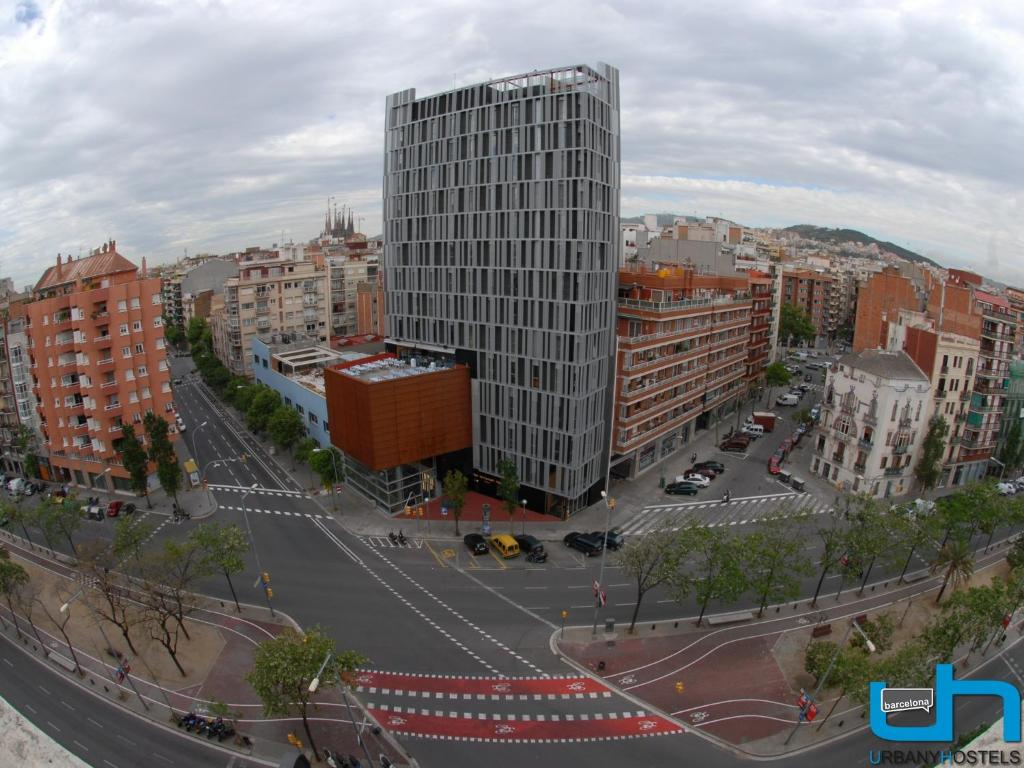 A bird's-eye view of Urbany Hostel Barcelona