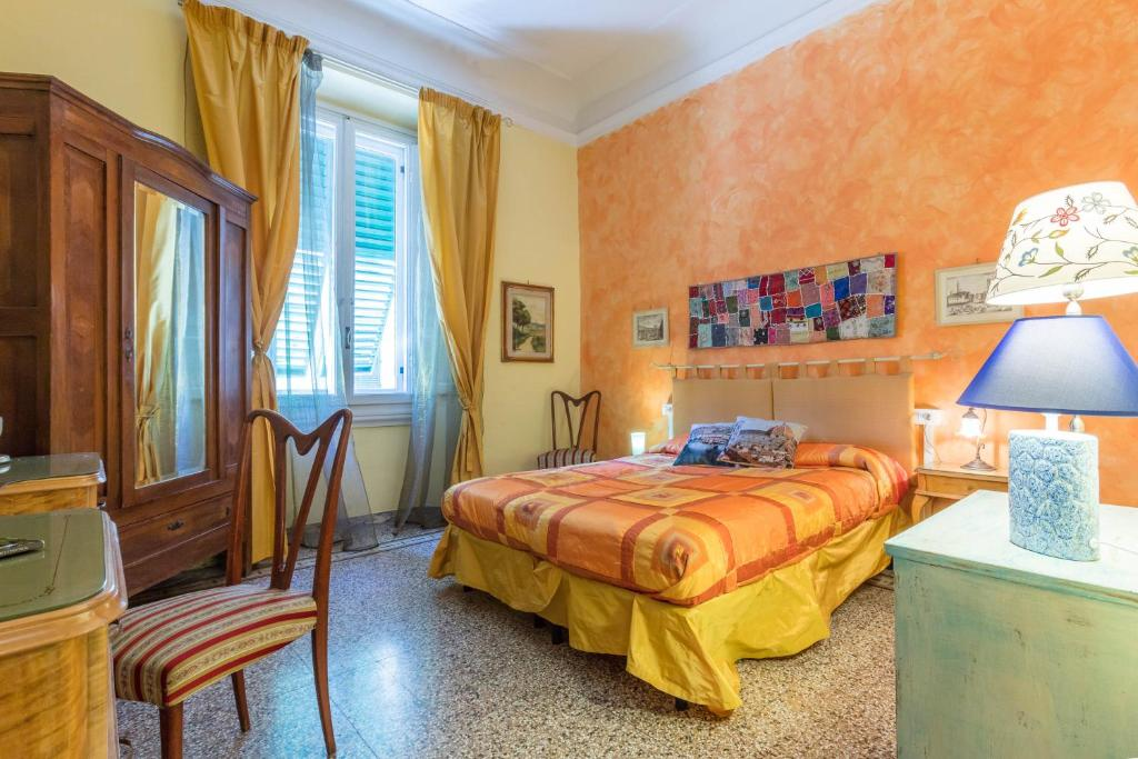 A bed or beds in a room at A Casa Di Virgilio