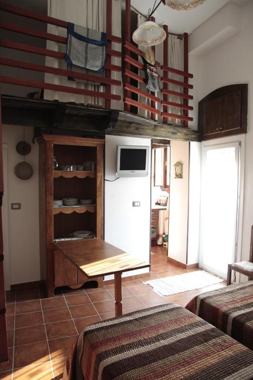 A kitchen or kitchenette at Nonnagiò