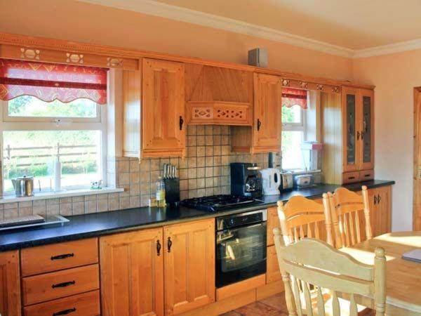 A kitchen or kitchenette at Grange Lodge, Strokestown