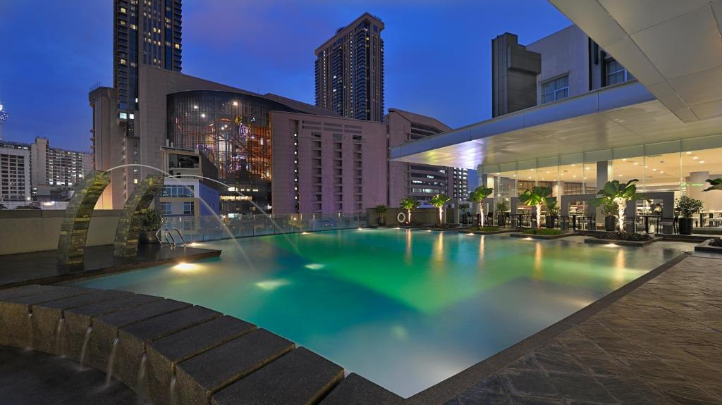 The swimming pool at or close to Furama Bukit Bintang, Kuala Lumpur