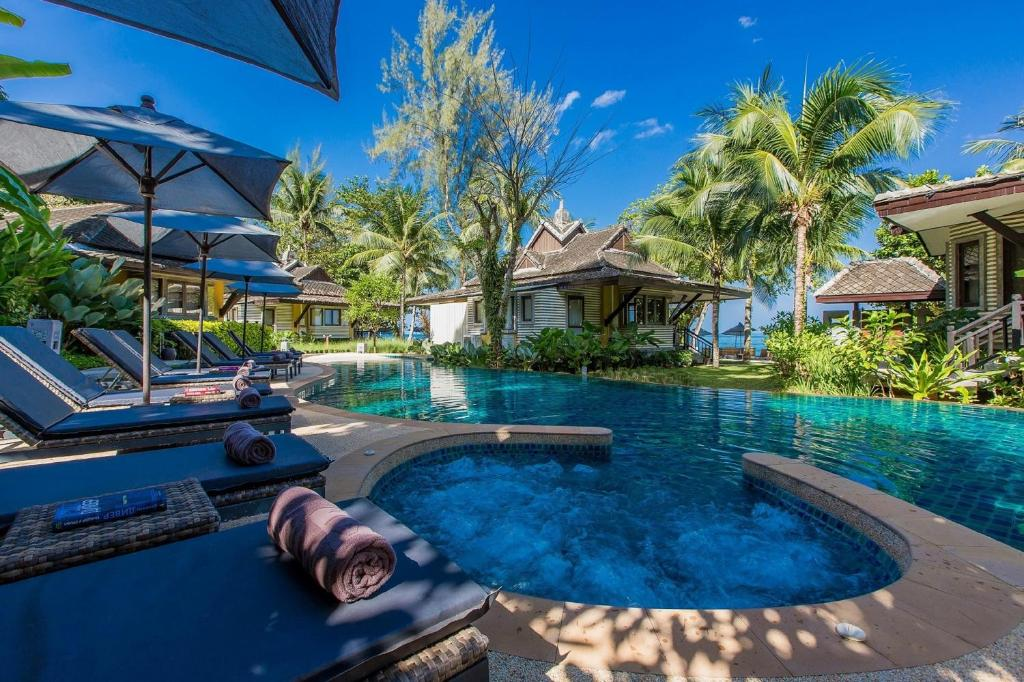 The swimming pool at or near Moracea by Khao Lak Resort