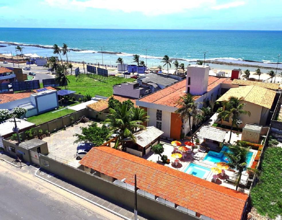 A bird's-eye view of Sol Praia Marina Hotel