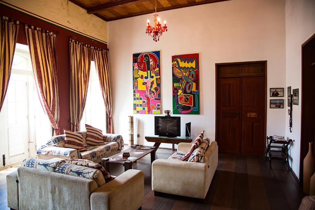 A seating area at Casa Lavinia