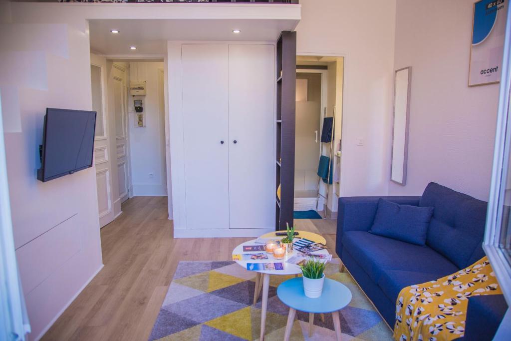 Ferienwohnung Studio cosy avec mezzanine à 6 mins de Paris ...